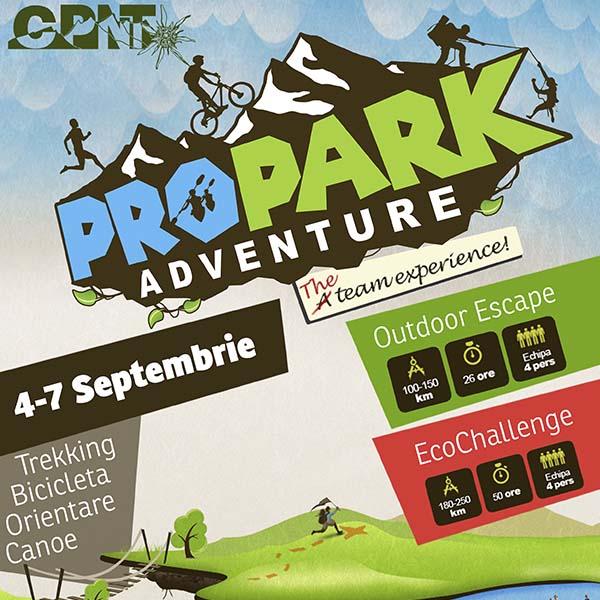 Propark Adventure poster capture design