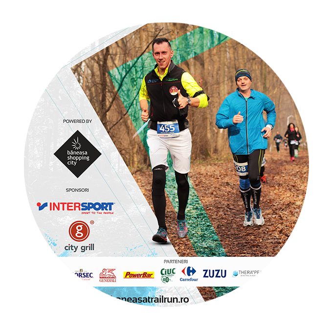 Băneasa Trail Run - afiș decorativ
