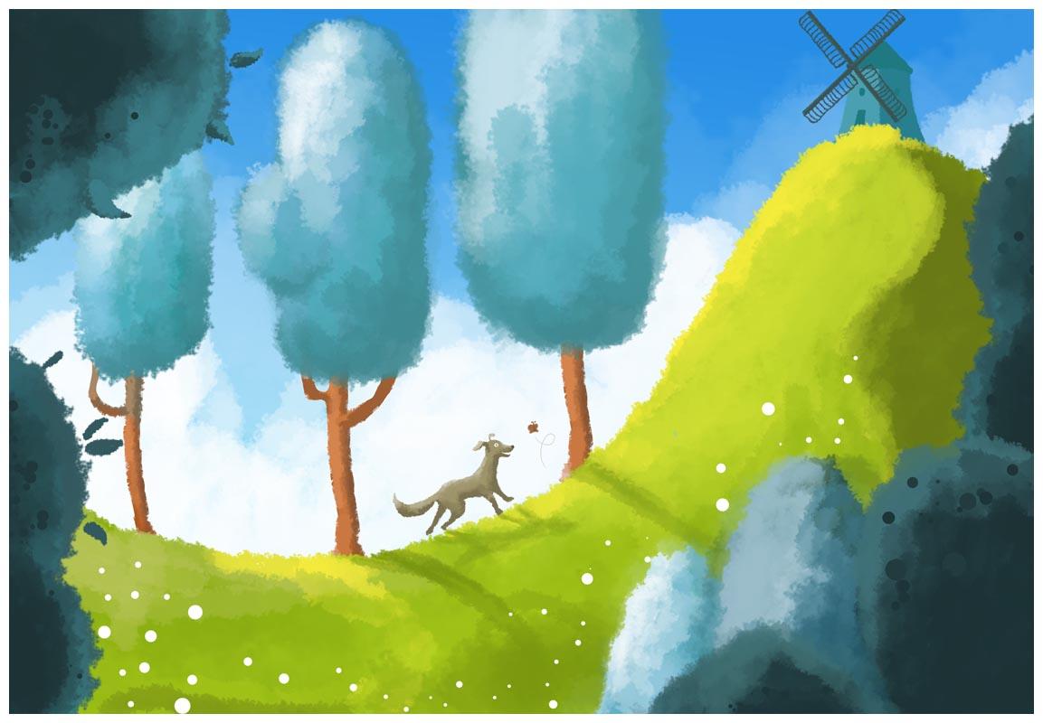 Ilustrație - Don Quijote's dog