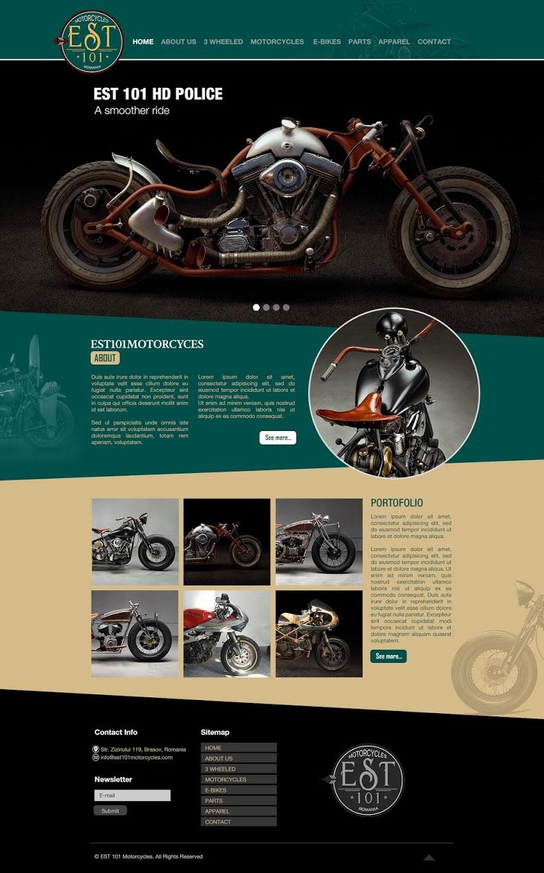 Webdesign Est 101 Motorcycles