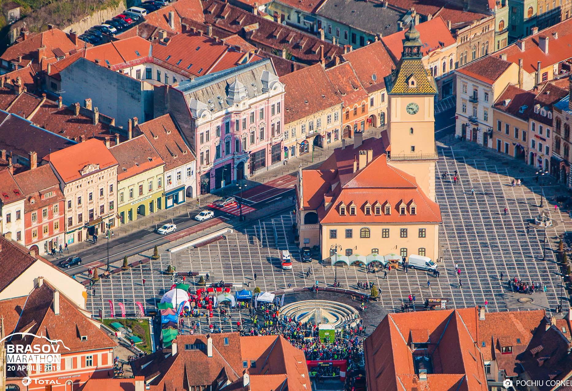 Fotografie eveniment - Brașov Marathon - Piața Sfatului