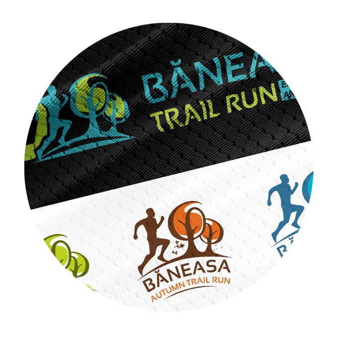 Băneasa Trail Run - print sigle decorativ