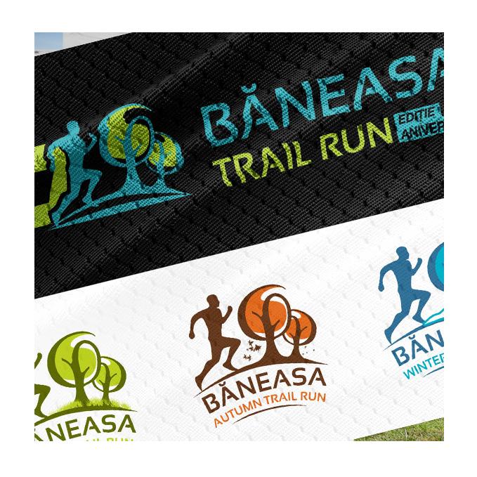 Băneasa Trail Run - print sigle decorativ