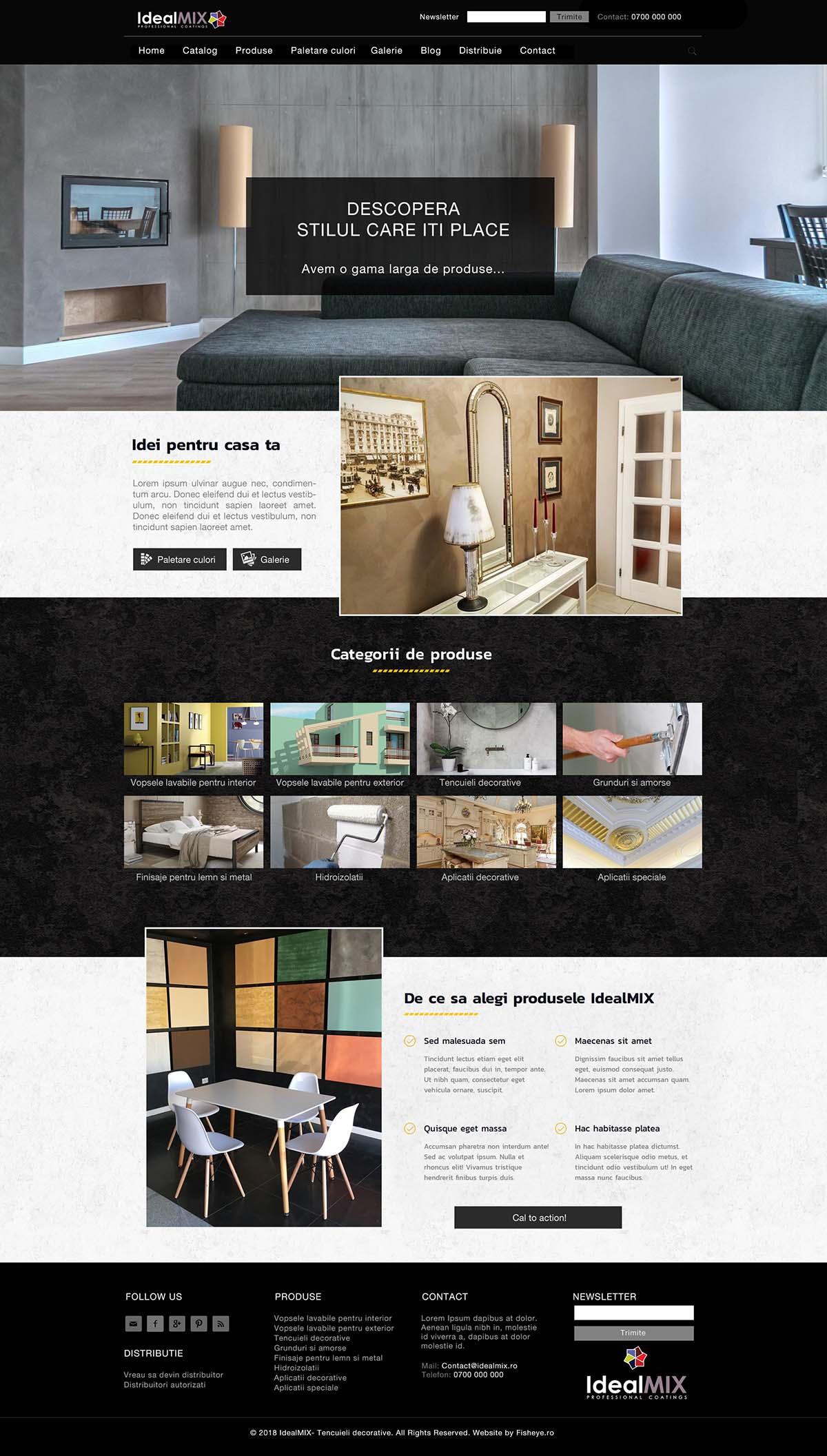 Webdesign IdealMix