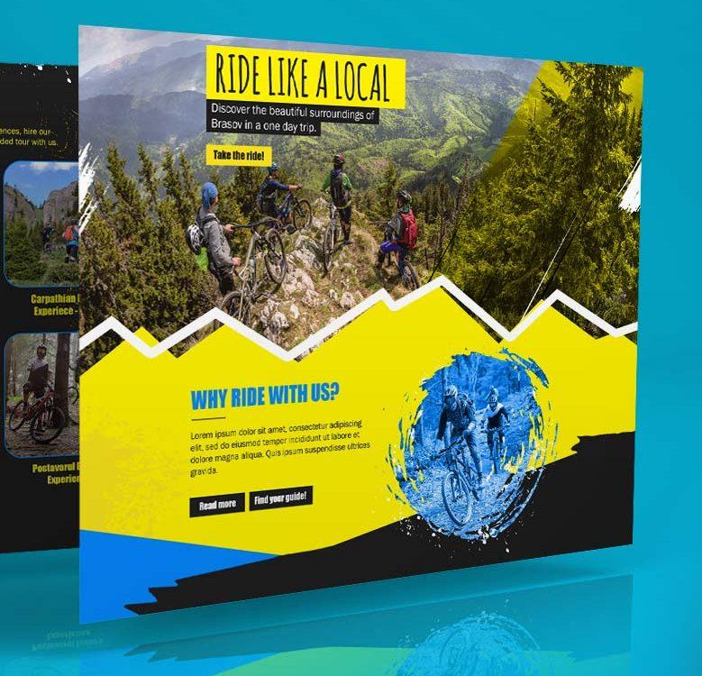 Webdesign - Massif Experience