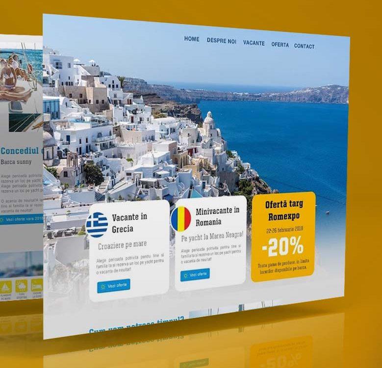 Webdesign Sunny Yachting