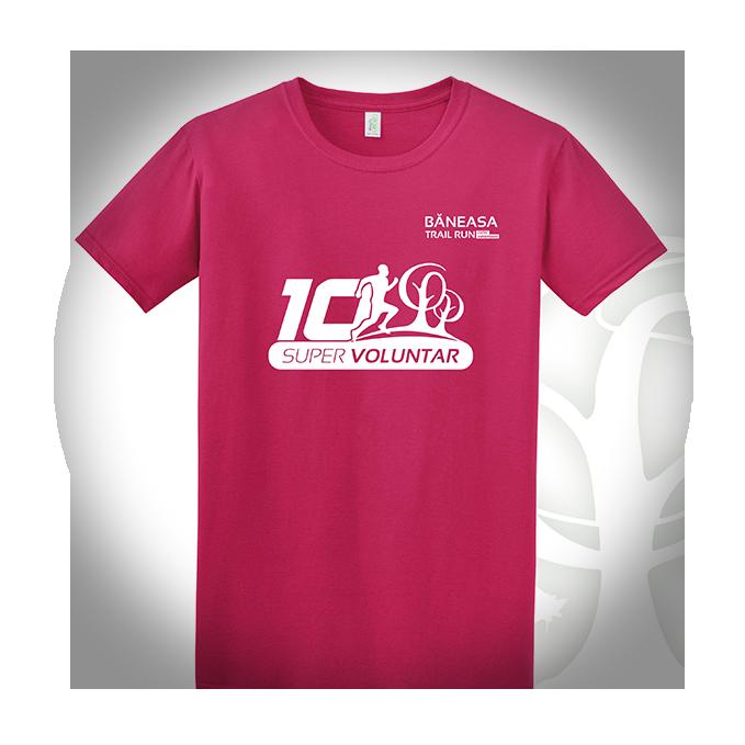 Băneasa Trail Run - T-shirt design super voluntar