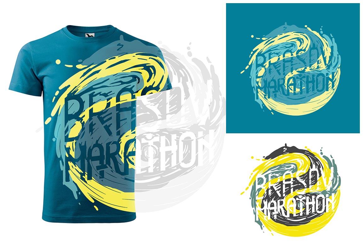 T-shirt Design - Brașov Marathon