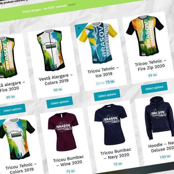 Shop online - Brașov Marathon