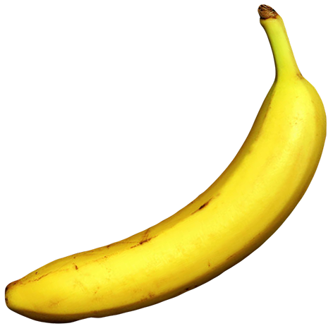 Banana decorativ
